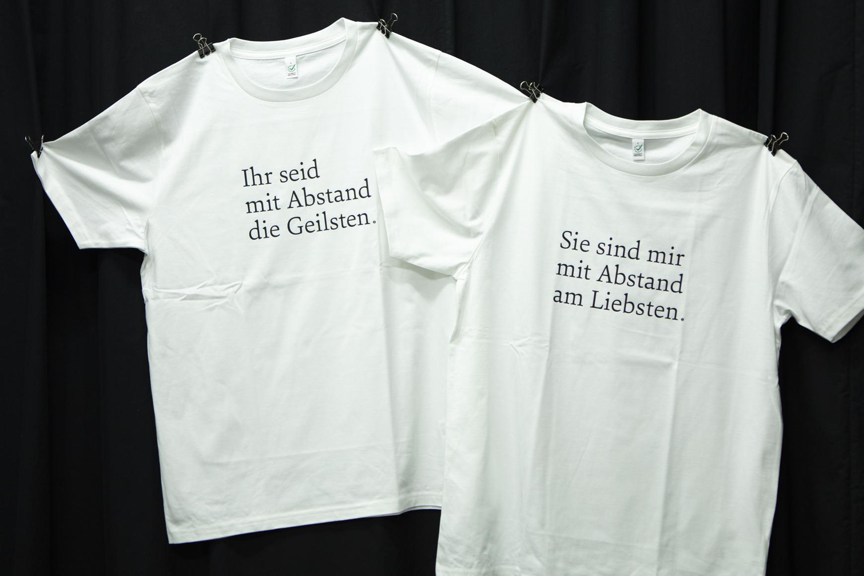T-Shirts Abstand