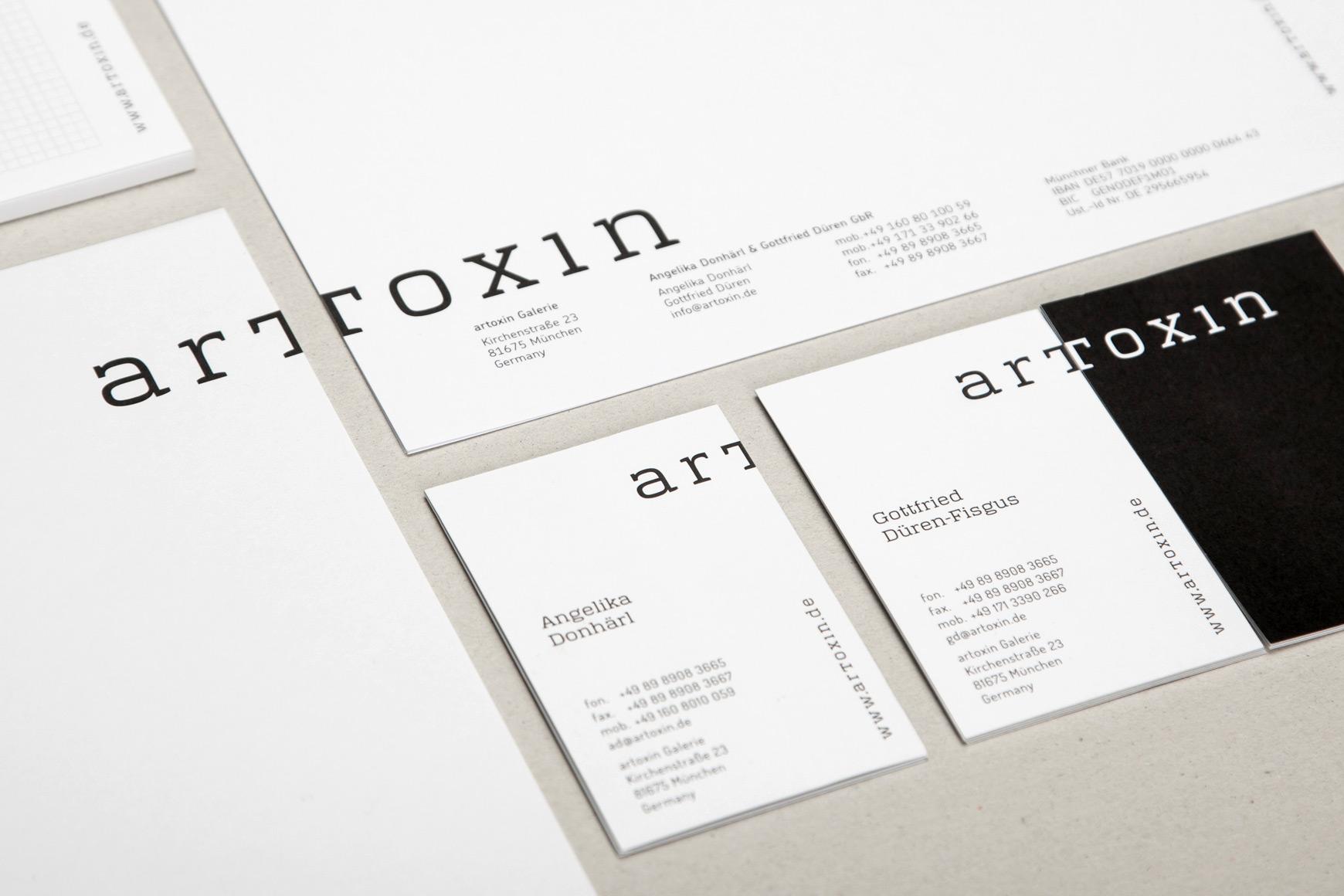 Artoxin Schaufenster