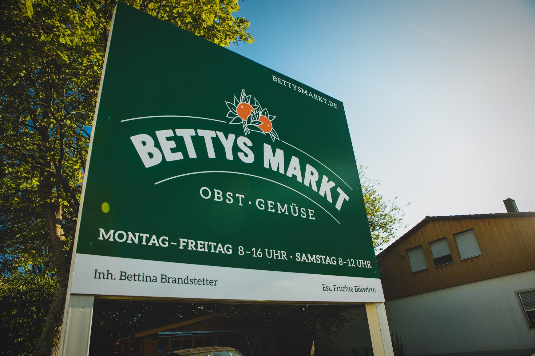 Bettys Markt Schaufenster