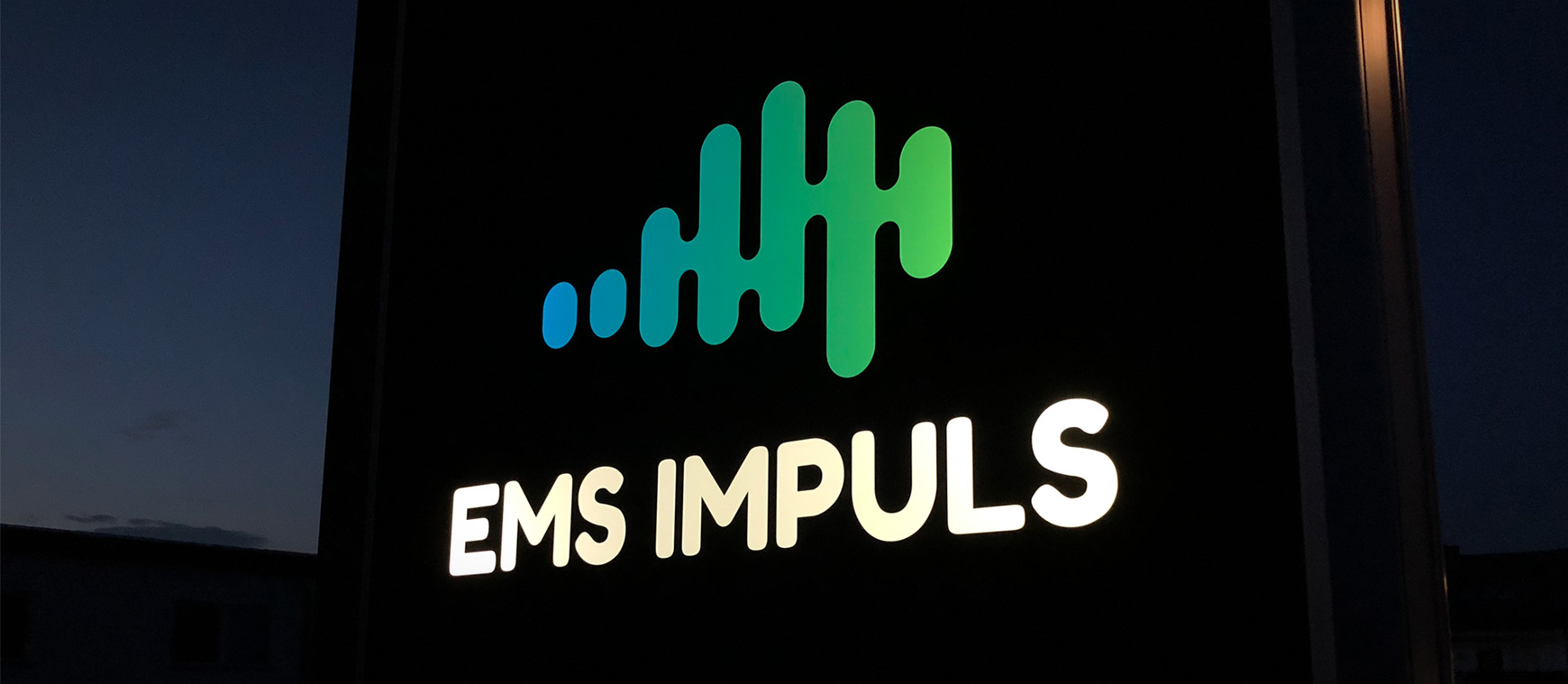 EMS Impuls Schaufenster