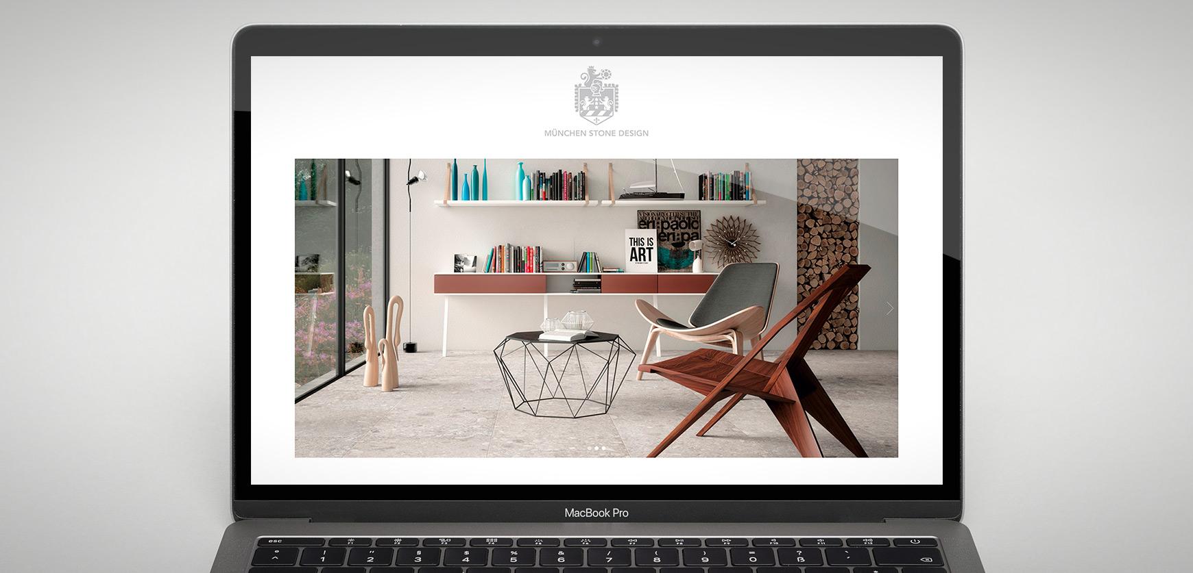 Munich Stone Design Schaufenster